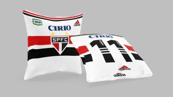 Almofada Camisa São Paulo 1998 Branca - Cirio