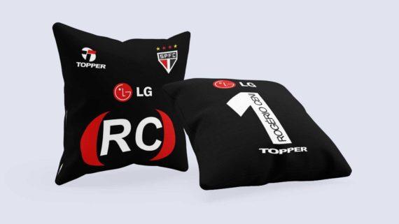 Almofada Camisa São Paulo - Goleiro Rogério Ceni Libertadores 2005