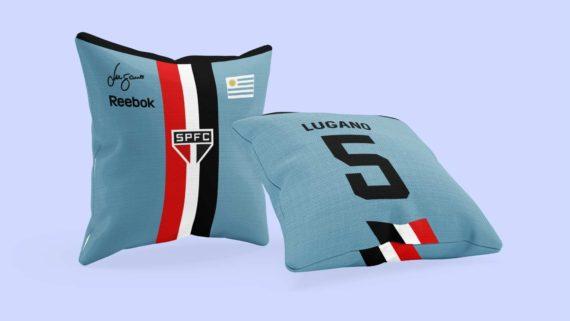 Almofada SPFC - Camisa Homenagem aos Uruguaios - Lugano