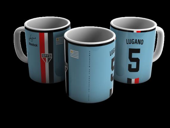 Caneca Camisa São Paulo Homenagem aos Uruguaios - Lugano