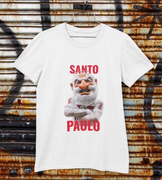 camiseta Santo Paulo branca