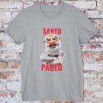 camiseta Santo Paulo cinza