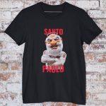 camiseta Santo Paulo preto