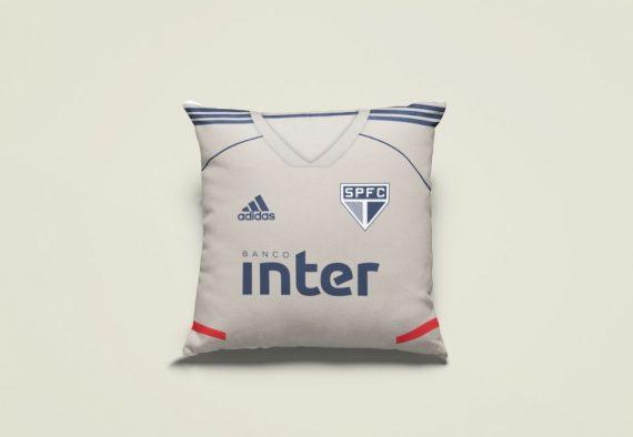 Almofada Camisa Gelo Treino SPFC