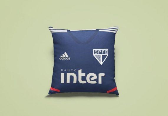 Almofada Camisa Treino Azul São Paulo
